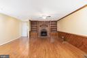 Wonderful Family Room w/Brick Fireplace - 11 LAWRENCE LN, FREDERICKSBURG