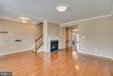Crown Molding and Hardwood Flooring upon Entry - 204 APRICOT ST, STAFFORD