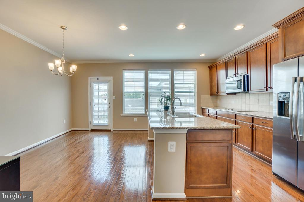 Large Windows Brighten Kitchen/Breakfast Area - 204 APRICOT ST, STAFFORD