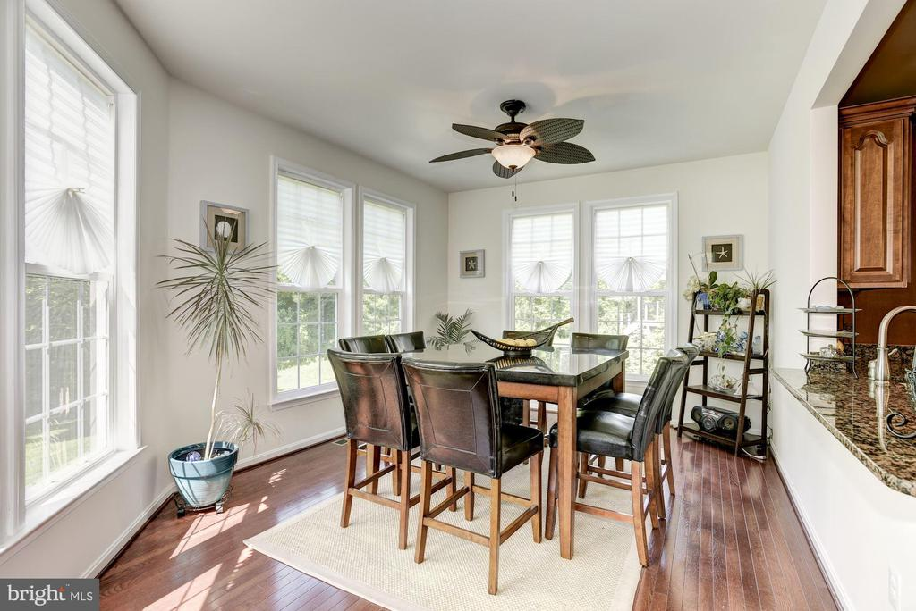 Morning Room with Hard wood Floors - 41521 GOSHEN RIDGE PL, ALDIE