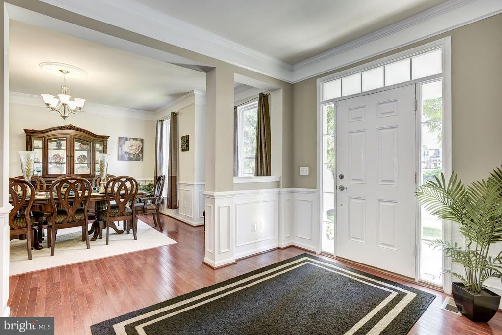 Dinning room off Foyer - 41521 GOSHEN RIDGE PL, ALDIE