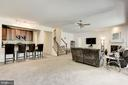 Lower level Wet Bar - 41521 GOSHEN RIDGE PL, ALDIE