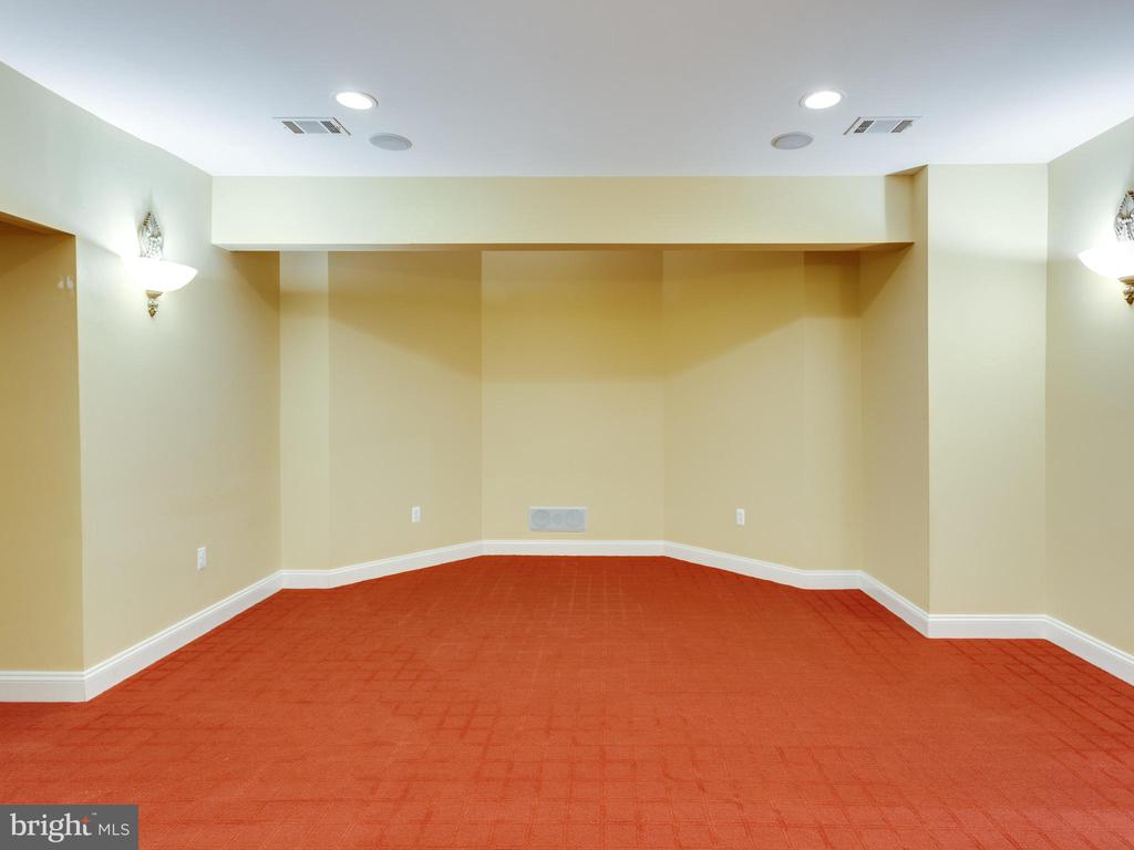 Theater Room - 5315 OX RD, FAIRFAX