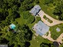 The pool is just below the picnic lawn. - 18490 BLUERIDGE MOUNTAIN RD, BLUEMONT