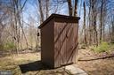 Outhouse - 18490 BLUERIDGE MOUNTAIN RD, BLUEMONT