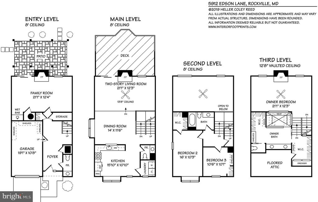 Floorplans - 5912 EDSON LN, ROCKVILLE
