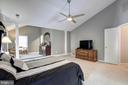 Master bedroom - 13615 YELLOW POPLAR DR, CENTREVILLE