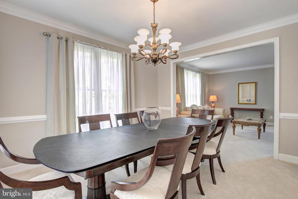 Dining Room - 13615 YELLOW POPLAR DR, CENTREVILLE