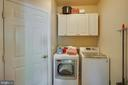 Laundry room main level - 21372 SMALL BRANCH PL, BROADLANDS