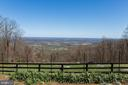 View from the Boulder Garden in Winter. - 18490 BLUERIDGE MOUNTAIN RD, BLUEMONT