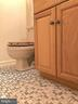 tile flooring in lower level bath - 5508 ELDER ST, FREDERICKSBURG