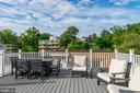 Community Roof Deck--lots of space - 3900 TUNLAW RD NW #317, WASHINGTON