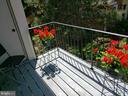 Private Balcony - 8353-E DUNHAM CT #643, SPRINGFIELD