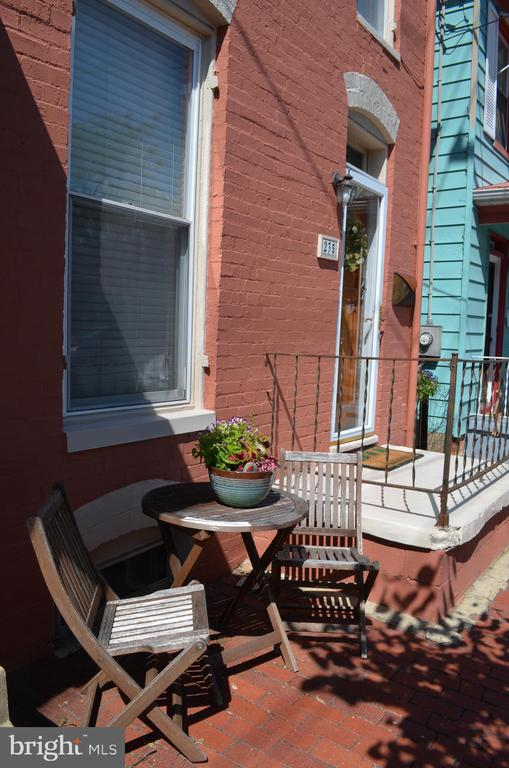 Relax in front of your new home! - 235 W 5TH ST, FREDERICK