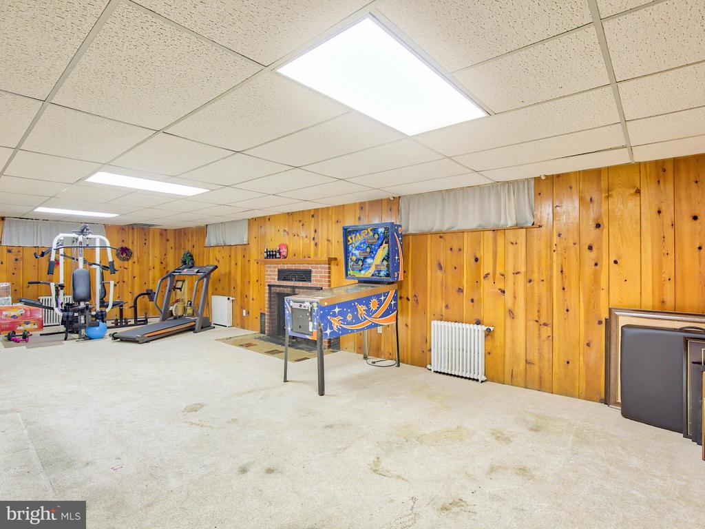 Over 1600 feet of basement - 6964 BROWNTOWN RD, FRONT ROYAL