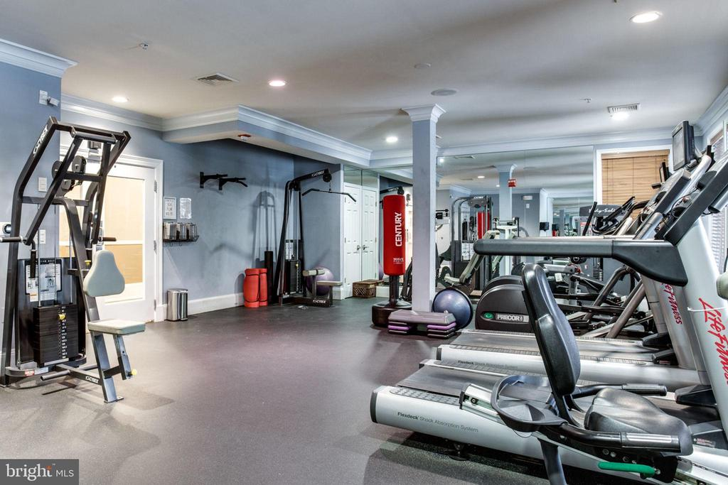 Recently Renovated Gym - 2055 26TH ST S #5-201, ARLINGTON
