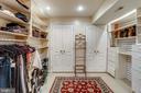 Dressing/storage room - 11 CLIMBING ROSE CT, ROCKVILLE