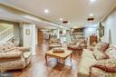 Recreation room with wet bar and recessed lighting - 11 CLIMBING ROSE CT, ROCKVILLE
