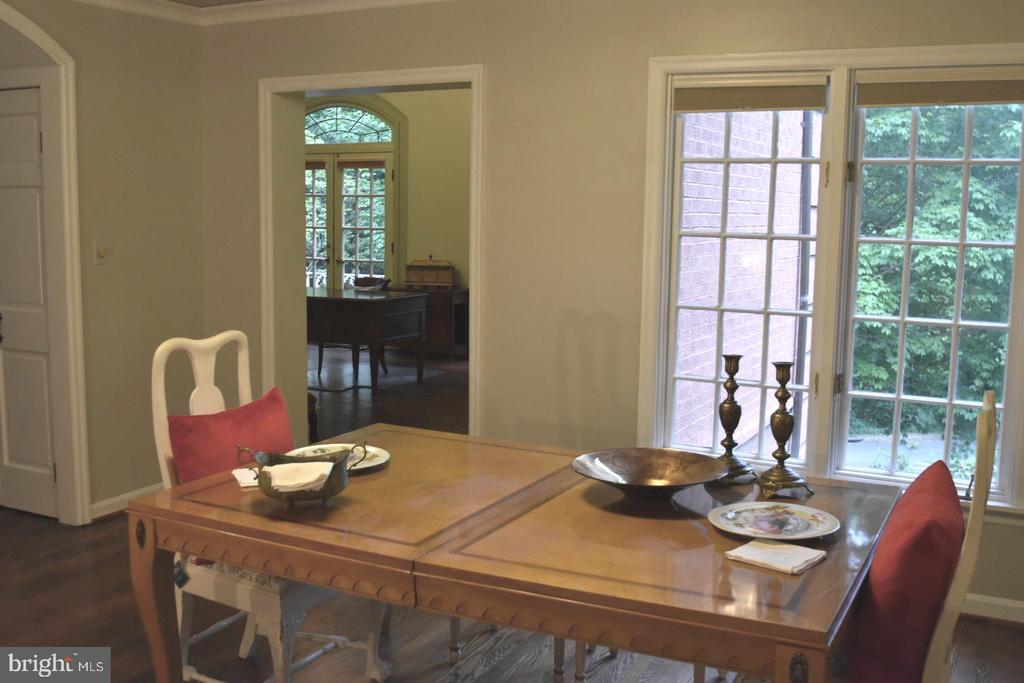 Dining room with beautiful view - 1925 SUMMIT TER, ALEXANDRIA