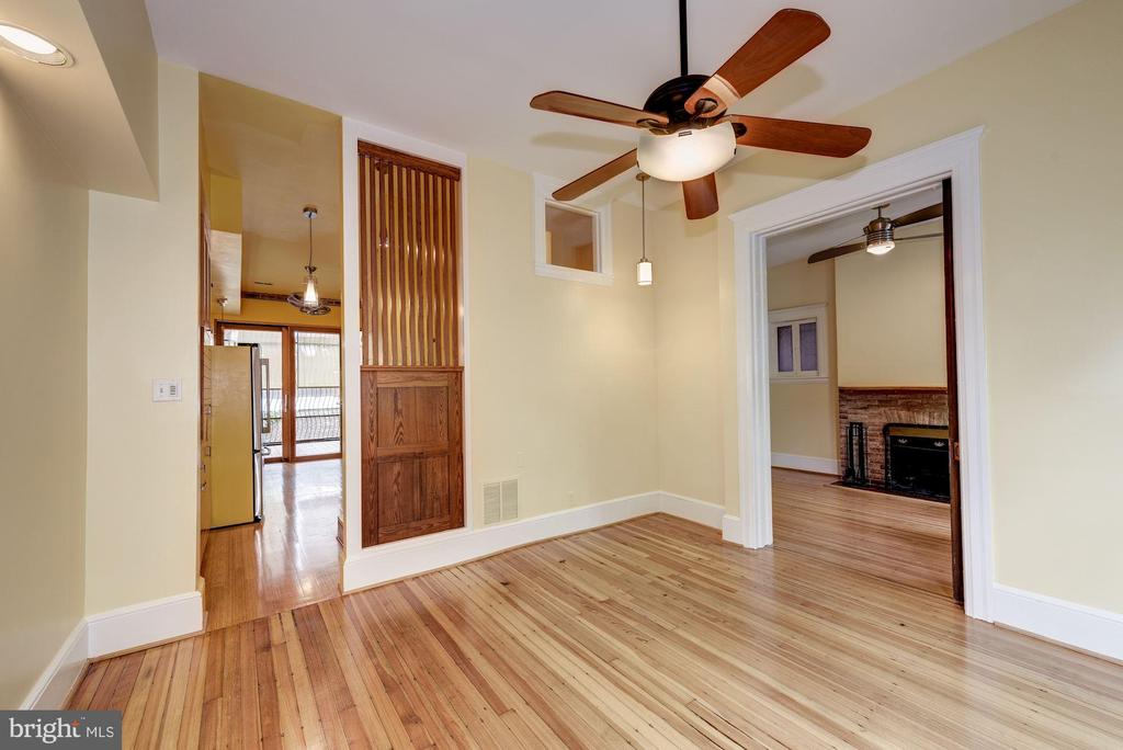 Ceiling Fans Throughout - 2506 CLIFFBOURNE PL NW, WASHINGTON