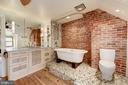 Large Soaking Tub, Custom Vanity - 2506 CLIFFBOURNE PL NW, WASHINGTON