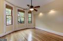 Sunny Living Room - 2506 CLIFFBOURNE PL NW, WASHINGTON