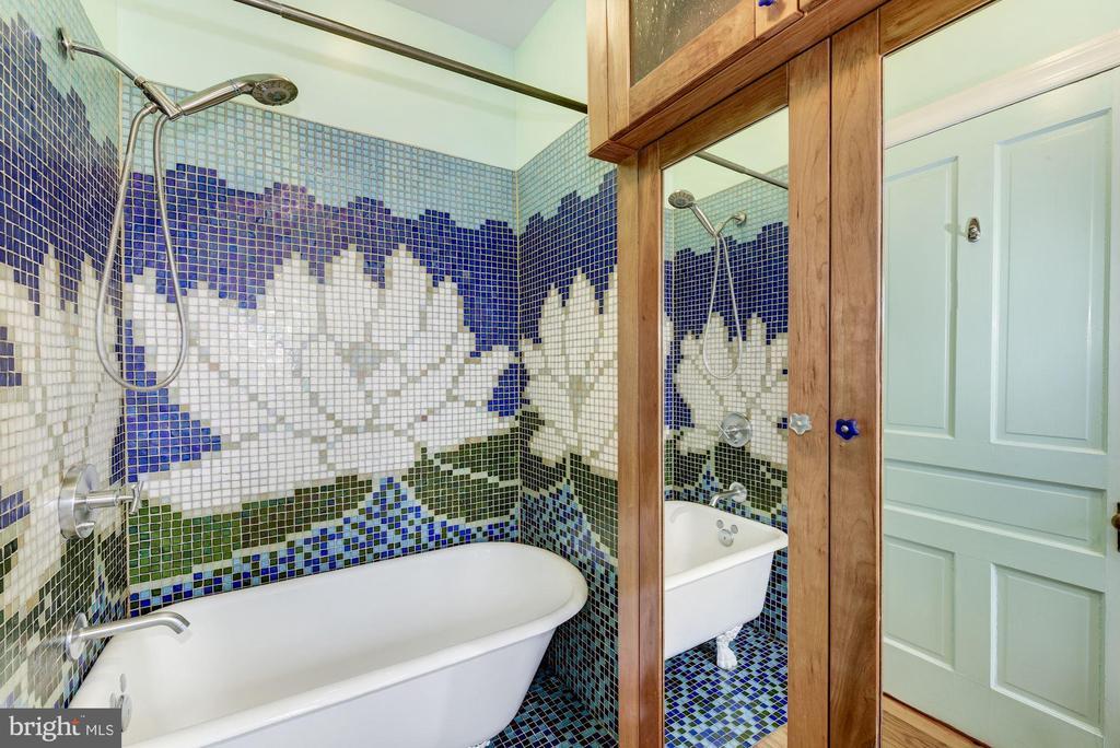 2nd Floor Custom Tile - 2506 CLIFFBOURNE PL NW, WASHINGTON