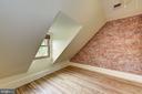 Den w/ Designated Hall Closet - 2506 CLIFFBOURNE PL NW, WASHINGTON