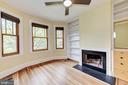Bedroom 1 w/ Fireplace - 2506 CLIFFBOURNE PL NW, WASHINGTON