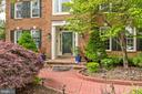 From View  ( Main  entrance ) - 43255 TISBURY CT, CHANTILLY