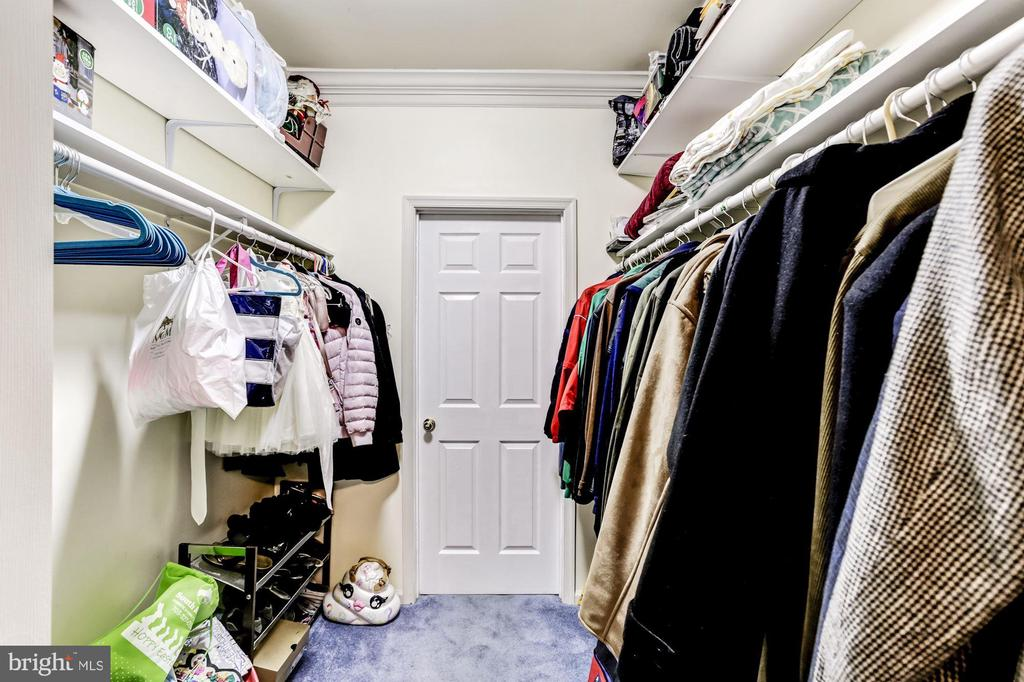 Master in Law Walk in Closet - 43255 TISBURY CT, CHANTILLY