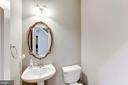 Powder Room - 43255 TISBURY CT, CHANTILLY
