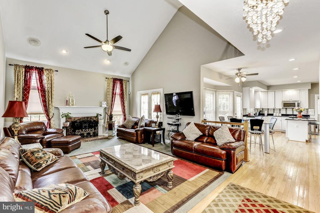 Family  Room - 43255 TISBURY CT, CHANTILLY
