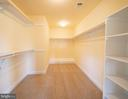 Large Walk in Closet - 208 SAINT ANDREWS CT, WINCHESTER