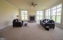 Natural light - Family Room - 208 SAINT ANDREWS CT, WINCHESTER