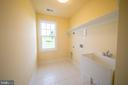 Upstairs Laundry - 208 SAINT ANDREWS CT, WINCHESTER