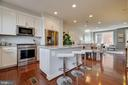 Kitchen upgrades galore - 8319 LOOKING GLASS WAY, FAIRFAX