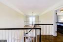 Foyer and balcony - 9496 LYNNHALL PL, ALEXANDRIA
