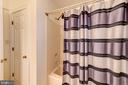 Full bath in lower level - 9496 LYNNHALL PL, ALEXANDRIA