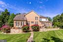 Lush landscaping provides outdoor oasis - 11580 CEDAR CHASE RD, HERNDON