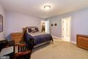 Bedroom in lower level - 9496 LYNNHALL PL, ALEXANDRIA