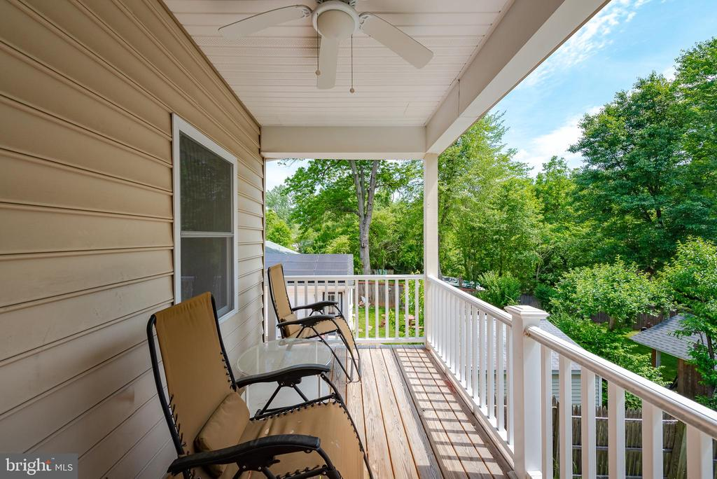 Balcony - 9607 52ND AVE, COLLEGE PARK