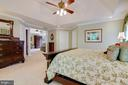 Master Bedroom with view of Sitting room - 1641 WHITE PINE DR, VIENNA