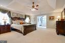 Master Bedroom - 1641 WHITE PINE DR, VIENNA