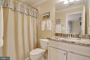 Bathroom off bedroom - 1641 WHITE PINE DR, VIENNA