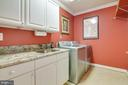 Laundry room located on Upper level - 1641 WHITE PINE DR, VIENNA