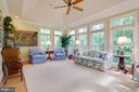 Sunroom located off living room - 1641 WHITE PINE DR, VIENNA