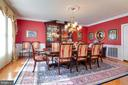 Banquet sized dining room - 1641 WHITE PINE DR, VIENNA