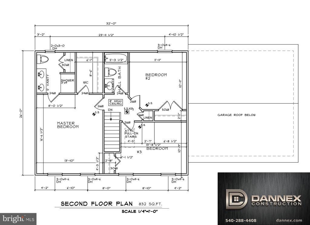 second level [base price] - 11615 RIVER MEADOWS WAY, FREDERICKSBURG