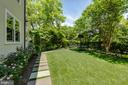 Side Yard - 3601 NEWARK ST NW, WASHINGTON